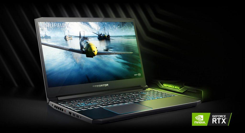 GEFORCE® CON DISEÑO MAX-Q Obtenga una de las laptops más delgadas, rápidas y silenciosas del mundo. Todo en un diseño increíblemente compacto que, de hecho, cabe en su regazo. Este es el mejor lugar para jugar con GeForce RTX.